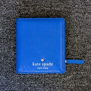 Kate Spade Small Stacy Cobble Hill Bule Wallet